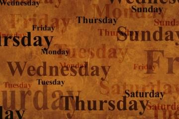 Značenja dana u nedelji