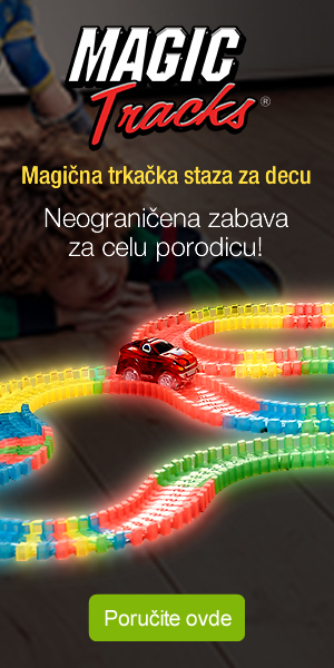 Magic Tracks - trkačka staza za autiće za decu