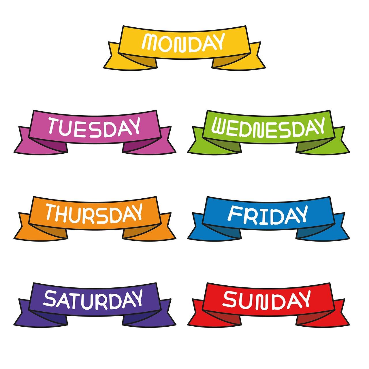 dani u nedelji