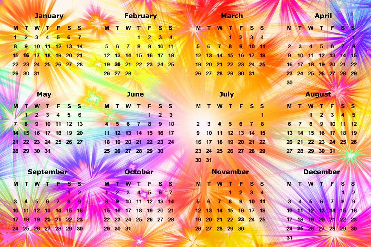 kalendar - dani u nedelji
