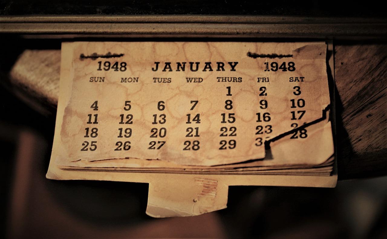 Vreme - Kalendar