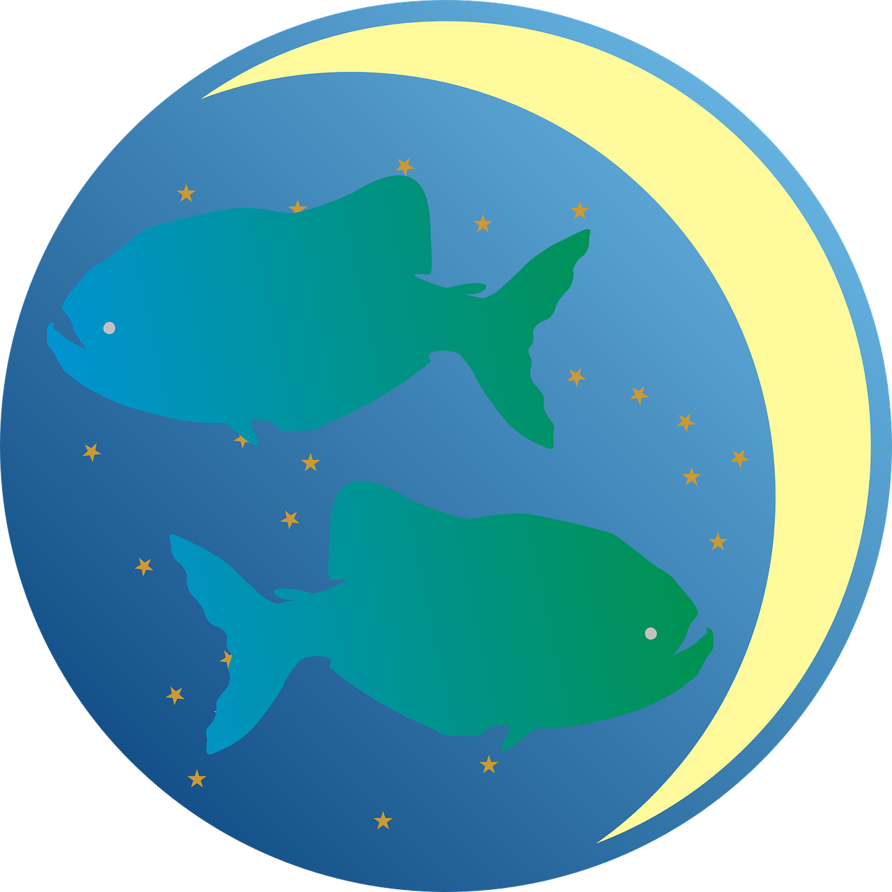 mesec u ribama