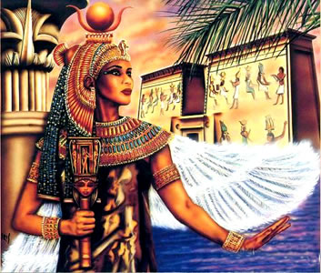 Izis (Izida) - Boginja meseca i vrhovna boginja starog Egipta