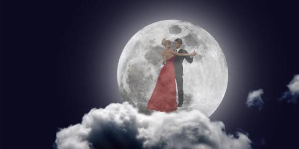 mesec - plesni par
