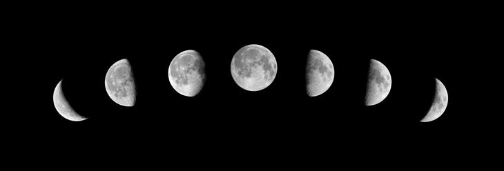 Meseceve mene ili meseceve faze - Astrologija